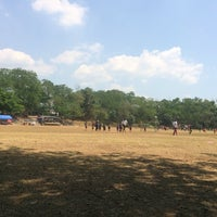 Photo taken at Marist School Football Grounds by Tat C. on 3/1/2014