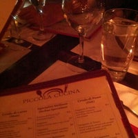 Photo taken at Piccola Cucina Osteria by Lora A. on 11/18/2012