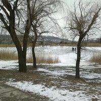 Photo taken at Городской парк by кафе Корчма Очаг и. on 12/22/2013