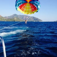 Photo taken at Aegean Sea by Юлия on 10/2/2015