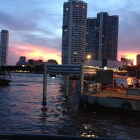 Photo taken at Sathorn (Taksin) Pier (CEN) by Sarayut W. on 5/10/2013