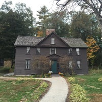 Photo taken at Louisa May Alcott's Orchard House by Valentino H. on 10/21/2015