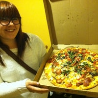 Photo taken at Jafang Pizza by Michelle J. on 12/13/2012