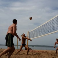 Photo taken at Волейбольная площадка by Daniel A. on 6/4/2014