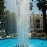 Foto tomada en Plaza Ñuñoa por Carlos Felipe R. el 12/21/2012