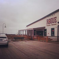 Photo taken at Rogue Ales Public House by Lindsay L. on 4/28/2013