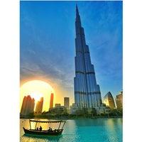 Photo taken at Burj Khalifa by Hisham B. on 7/14/2013