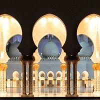 Photo taken at Sheikh Zayed Grand Mosque by Hisham B. on 3/2/2013