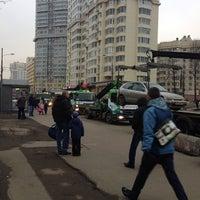 Photo taken at Kuntsevo District by Tatyana A. on 3/6/2014