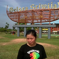 Photo taken at Jakabaring Sport City by Lhieta N. on 10/13/2013