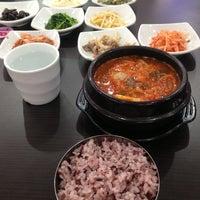 Photo taken at Won Korean by Jieyin L. on 10/20/2013