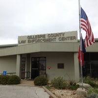 Photo taken at Gillespie County Law Enforcment Center by Santiago S. on 4/4/2013
