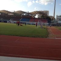 Photo taken at Στάδιο Νέας Σμύρνης by Brfun A. on 10/18/2012