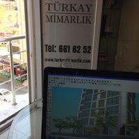 Photo taken at Türkay Mimarlık by Türkan A. on 6/18/2014