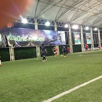 Photo taken at Football Field Happy Condo by DeMoNJinX P. on 1/12/2014