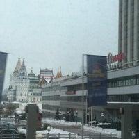 Photo taken at VEGA Izmailovo Hotel by Tanya L. on 2/19/2013