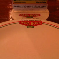 Photo taken at Papa Ron's pizza blu mall by Yafet K. on 6/2/2013