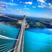 Photo taken at 3rd Bosphorus Bridge South Tower by Mihriban A. on 5/26/2016