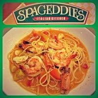 Photo taken at Spageddies Italian Kitchen by Sakura L. on 10/19/2012
