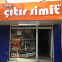 Photo taken at Meram Çıtır  simit karapınar by Ali G. on 12/27/2013