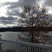 Photo taken at Lac Jerry by René T. on 10/19/2014