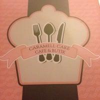 Photo taken at Caramell Cake by Elif K. on 11/16/2013