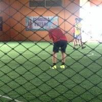 Photo taken at Gembira Parade Futsal Court by Arash R. on 9/7/2014