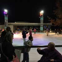 Photo taken at Devon Energy Ice Rink by Sharifah A. on 12/15/2015