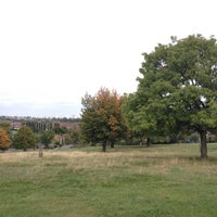Photo taken at Blythe Hill Fields by Miles B. on 9/30/2012