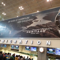 Photo taken at Terminal 3 Immigration (Arrivals North) by Birunthaban S. on 1/28/2018