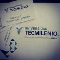 Photo taken at Universidad TecMilenio Campus Cuautitlán Izcalli by Viktor G. on 6/5/2014