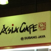 Photo taken at Asia Cafe by Mαc α. on 11/29/2012