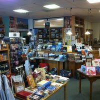 Photo taken at Book Passage Bookstore by Kate M. on 1/25/2013