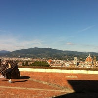 Photo taken at Forte di Belvedere by Francesca C. on 9/22/2013