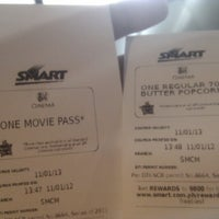 Photo taken at SM Cinema Manila by Alistair R. on 11/1/2012