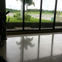 Photo taken at Waiting Area, Bancasi Airport by Alistair R. on 1/13/2014