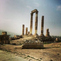 Photo taken at Amman Citadel by Sahar A. on 2/23/2013