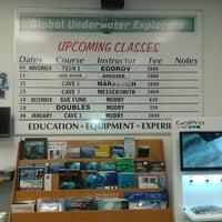 Photo taken at Global Underwater Explorers by Yuliya L. on 11/9/2013