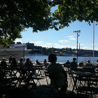 Photo taken at Café Riddarholmen by Pier Luigi M. on 8/25/2013