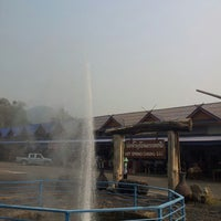 Photo taken at The Highest Hot Spring in Thailand by Jirapa T. on 4/8/2013