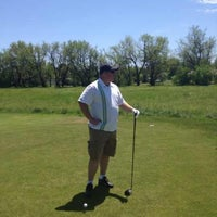 Photo taken at Auburn Hills Golf Course by Hank Funk on 4/5/2014