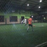 Photo taken at Kene Wae Futsal Center by vier b. on 5/8/2013