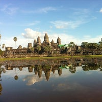 Photo taken at Angkor Wat by Gerardo P. on 11/26/2012