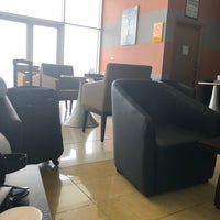 Photo taken at Airport Lounge by Mamdouh a. on 3/29/2018