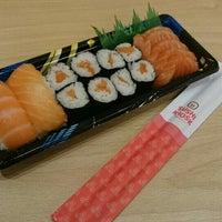 Photo taken at Sushi Kiosk by Kaka Y. on 12/30/2015
