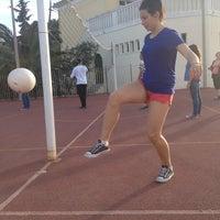 Photo taken at ΓΕ.Λ Πόρου by Μιμικα Α. on 5/13/2014