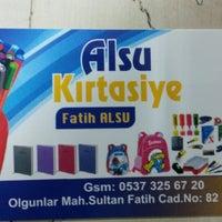 Photo taken at ALSU kırtasiye by Enes A. on 3/3/2014