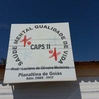 Photo taken at CAPS II PLANALTINA by Celene Santana O. on 10/16/2013
