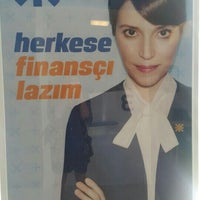 Photo taken at QNB Finansbank by Özge Ö. on 4/4/2016