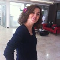 Photo taken at Doğa College Lobby by Gülhan O. on 2/2/2014